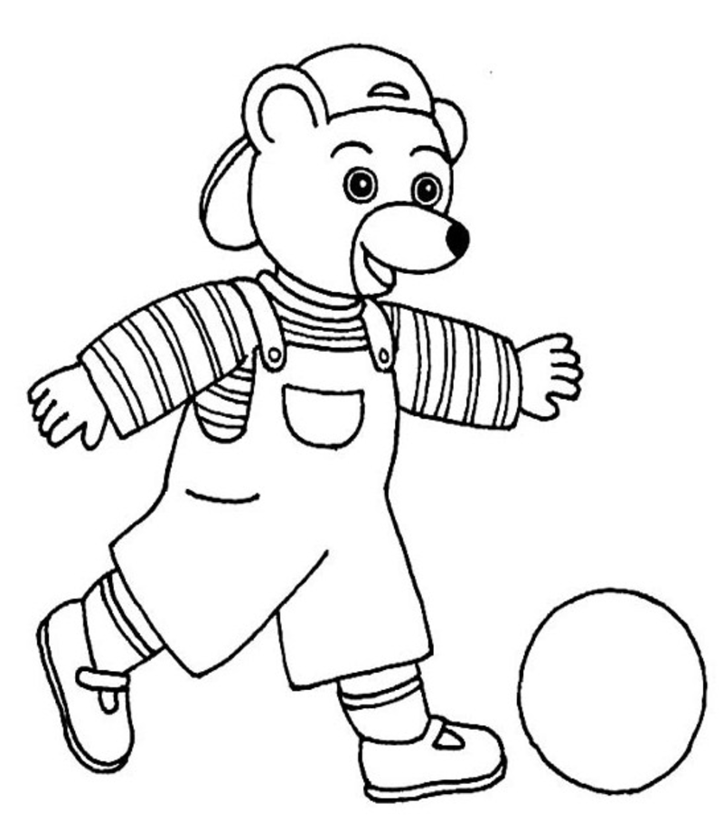 Petit ours brun coloriage my blog - Dessin de grizzly ...
