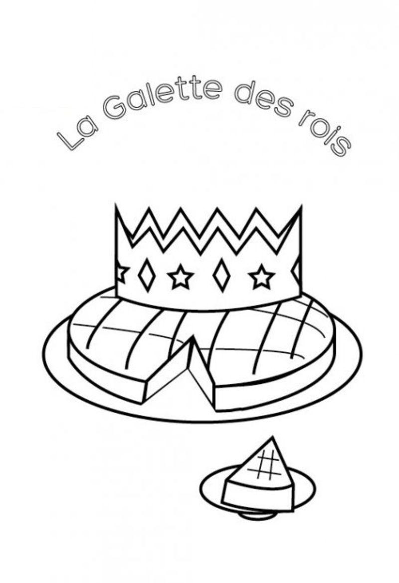 Hugo Lescargot Coloriage Galette Des Rois.Galette A Colorier Colorier Les Enfants Marnfozine Com