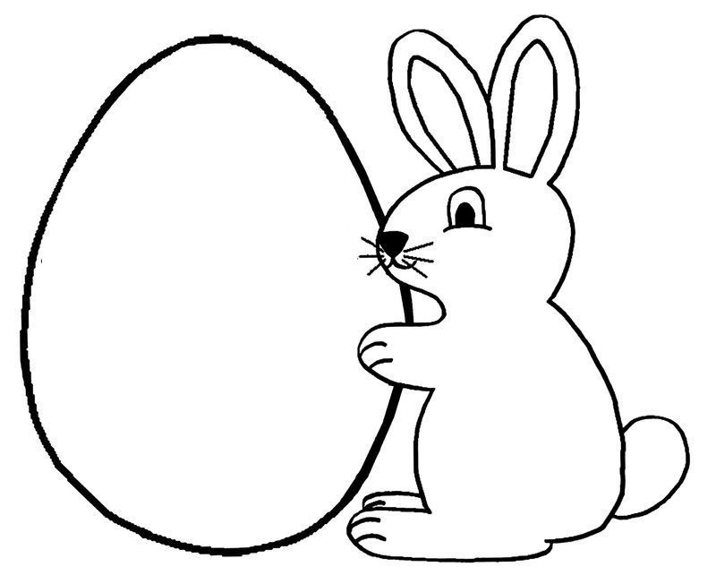 Paque lapin creation lapin paques - Coloriage paques maternelle ...