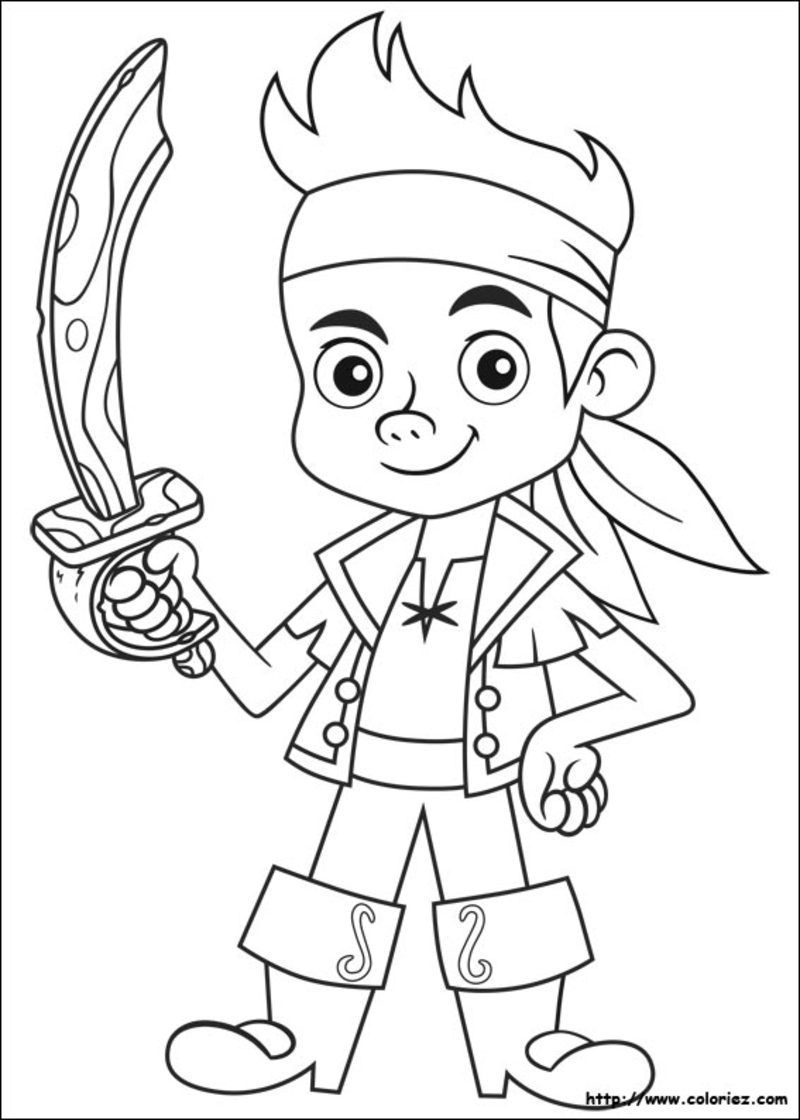 Zack Storm Coloring Pages: Coloriage Pirates