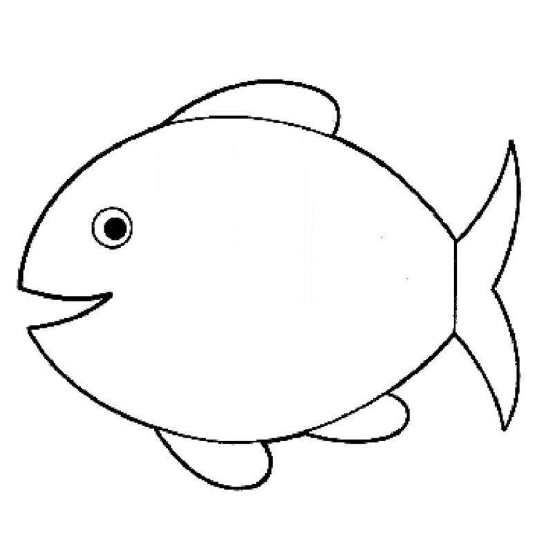 1 avril coloriage pour activite - Dessin de poisson facile ...