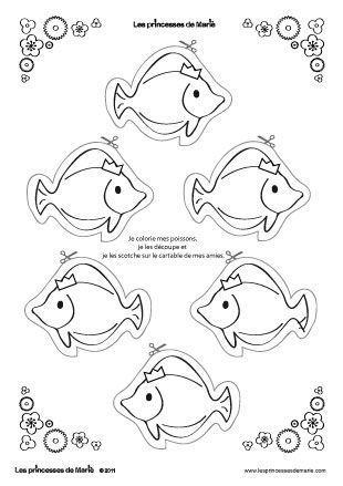 1 avril coloriage pour activite - Dessin a colorier poisson d avril ...