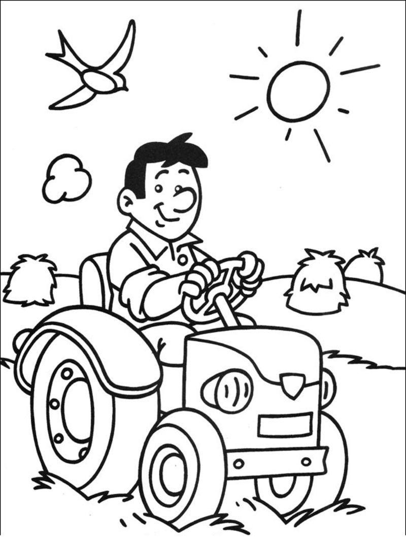 Coloriage De La Ferme Page 3