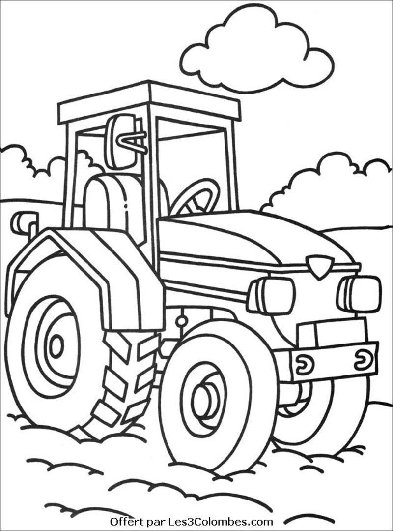 Coloriage de la ferme page 2 - Coloriage ferme ...