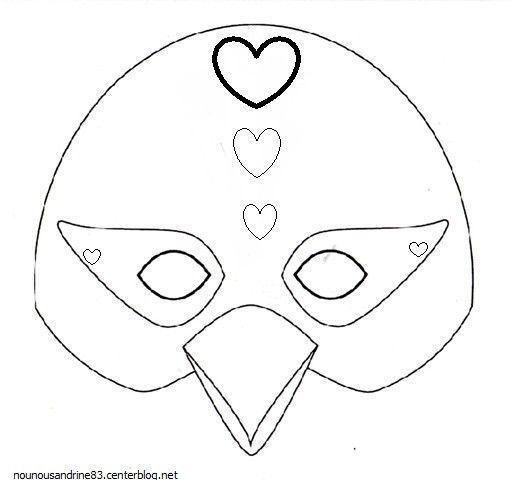 Les masques - Image de coq a imprimer ...