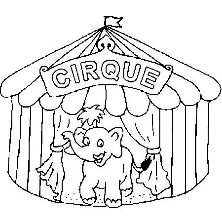 Coloriage cirque page 2 - Coloriages cirque ...