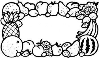 Coloriage les fruits page 2 - Coloriage de fruit ...