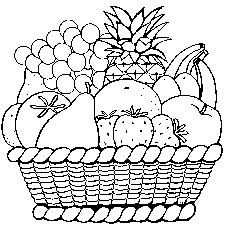 Coloriage les fruits page 2 - Fruits coloriage ...