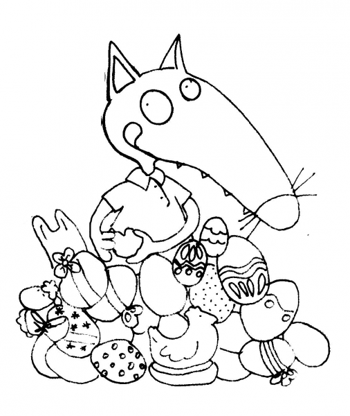 Paque Coloriage