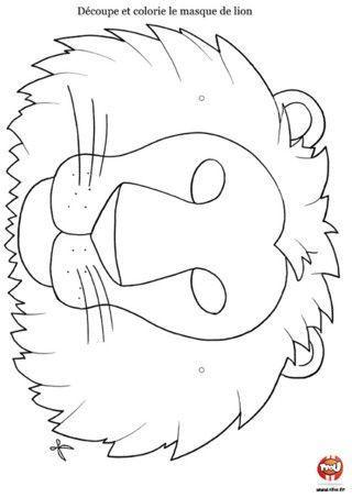 Les masques page 2 - Images de lions a imprimer ...