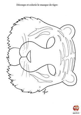 Les masques page 2 - Photo de tigre a imprimer ...
