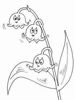 1 mai coloriage page 2 - Muguet dessin ...