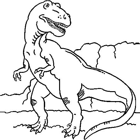 Coloriage dinosaures page 3 - Coloriage de dinosaures ...